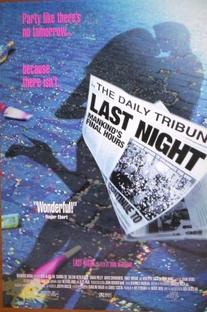 A Última Noite - Poster / Capa / Cartaz - Oficial 5
