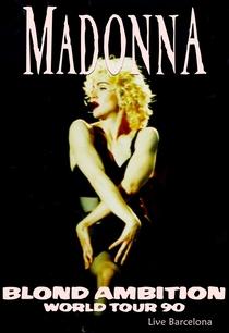 Madonna - Live Barcelona - Blond Ambition Tour - Poster / Capa / Cartaz - Oficial 1