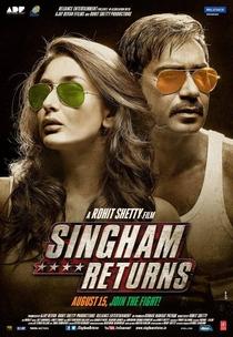 Singham Returns - Poster / Capa / Cartaz - Oficial 1
