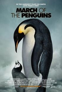 A Marcha dos Pinguins - Poster / Capa / Cartaz - Oficial 1