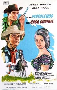 Os Pistoleiros de Casa Grande - Poster / Capa / Cartaz - Oficial 1