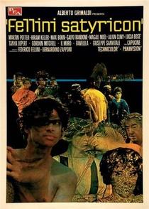 Satyricon de Fellini - Poster / Capa / Cartaz - Oficial 6