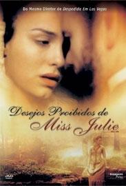 Desejos Proibidos de Miss Julie - Poster / Capa / Cartaz - Oficial 2