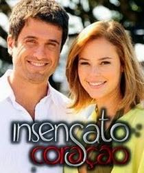 Insensato Coração - Poster / Capa / Cartaz - Oficial 2