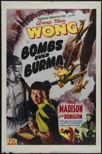 Bombs Over Burma - Poster / Capa / Cartaz - Oficial 1