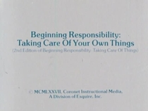 Beginning Responsibility: Taking Care of Your Own Things - Poster / Capa / Cartaz - Oficial 1