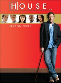 Dr. House (3ª Temporada) - Poster / Capa / Cartaz - Oficial 1