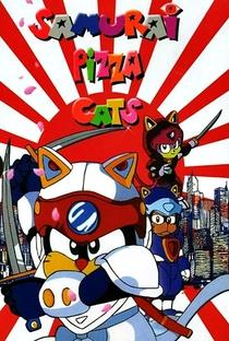 Samurai Pizza Cats - Poster / Capa / Cartaz - Oficial 5