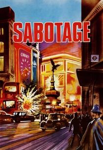 Sabotagem - Poster / Capa / Cartaz - Oficial 7