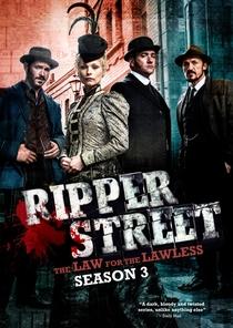 Ripper Street (3° Temporada) - Poster / Capa / Cartaz - Oficial 1