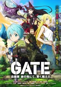 Gate: Jieitai Kanochi nite, Kaku Tatakaeri (1ª Temporada) - Poster / Capa / Cartaz - Oficial 1