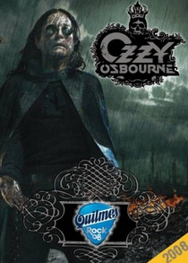 Ozzy Osbourne - Live In Argentina Quilmes Rock Festival 2008 - Poster / Capa / Cartaz - Oficial 1