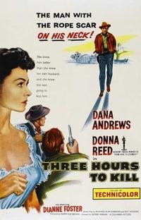 Três Horas Para Matar - Poster / Capa / Cartaz - Oficial 1