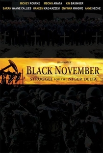 Black November - Poster / Capa / Cartaz - Oficial 2