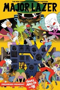 Major Lazer - 1º Temporada - Poster / Capa / Cartaz - Oficial 1