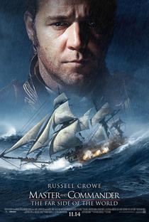 Mestre dos Mares: O Lado Mais Distante do Mundo - Poster / Capa / Cartaz - Oficial 6