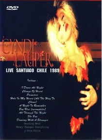 Cyndi Lauper - Live in Chile - Poster / Capa / Cartaz - Oficial 1