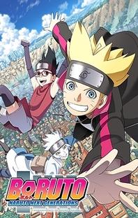 Boruto - Naruto Next Generations (1ª  Temporada) - Poster / Capa / Cartaz - Oficial 1