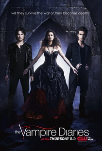 The Vampire Diaries (4ª Temporada) - Poster / Capa / Cartaz - Oficial 1