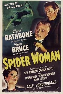 Sherlock Holmes e a Mulher Aranha - Poster / Capa / Cartaz - Oficial 2