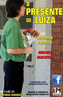 O Presente de Luiza - Poster / Capa / Cartaz - Oficial 3