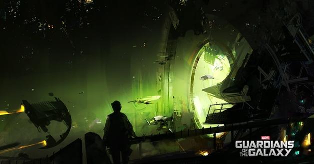 Artes conceituais revelam outras versões da coleção do Colecionador de Guardiões da Galáxia