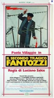 Fantozzi - Poster / Capa / Cartaz - Oficial 1
