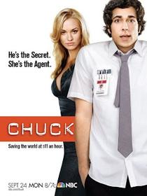 Chuck (1ª Temporada) - Poster / Capa / Cartaz - Oficial 2