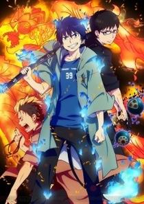 Ao no Exorcist OVA - Poster / Capa / Cartaz - Oficial 1