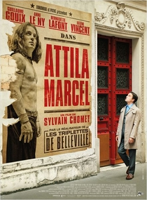 Attila Marcel - Poster / Capa / Cartaz - Oficial 1