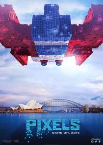 Pixels: O Filme - Poster / Capa / Cartaz - Oficial 5