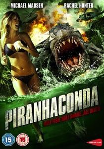 Piranhaconda - Poster / Capa / Cartaz - Oficial 3
