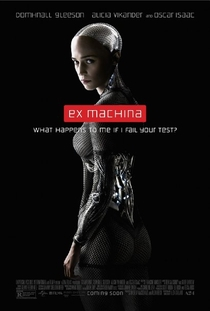 Ex Machina: Instinto Artificial - Poster / Capa / Cartaz - Oficial 1