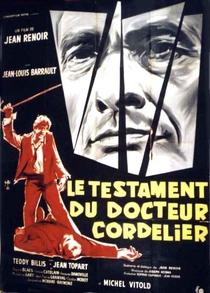 O Testamento do Dr. Cordelier - Poster / Capa / Cartaz - Oficial 1