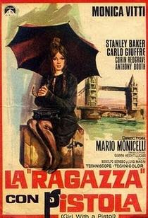 A Moça Com A Pistola  - Poster / Capa / Cartaz - Oficial 1