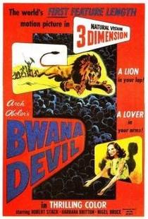 Bwana, o demônio - Poster / Capa / Cartaz - Oficial 1