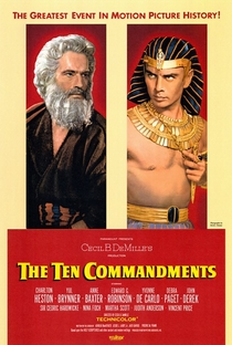 Os Dez Mandamentos - Poster / Capa / Cartaz - Oficial 5