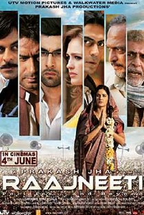 Raajneeti - Poster / Capa / Cartaz - Oficial 1
