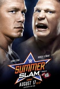 WWE Summerslam - (2014) - Poster / Capa / Cartaz - Oficial 1