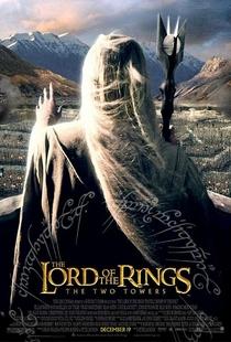 O Senhor dos Anéis: As Duas Torres - Poster / Capa / Cartaz - Oficial 1