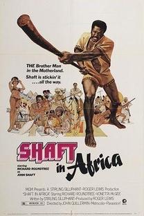 Shaft na África - Poster / Capa / Cartaz - Oficial 1