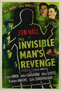A Vingança do Homem Invisível - Poster / Capa / Cartaz - Oficial 1