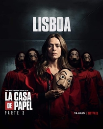 La Casa de Papel (Parte 3) - Poster / Capa / Cartaz - Oficial 7