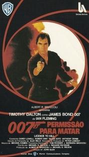 007 - Permissão Para Matar - Poster / Capa / Cartaz - Oficial 4