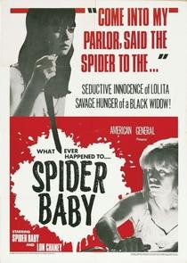 Spider Baby - Poster / Capa / Cartaz - Oficial 1
