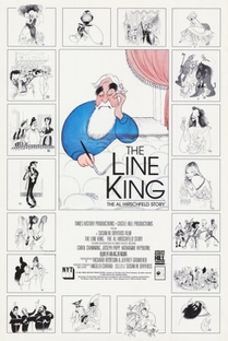 The Line King: The Al Hirschfeld Story - Poster / Capa / Cartaz - Oficial 2