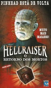 Hellraiser - O Retorno dos Mortos - Poster / Capa / Cartaz - Oficial 3