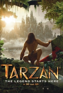 Tarzan 3D: A Evolução da Lenda - Poster / Capa / Cartaz - Oficial 2