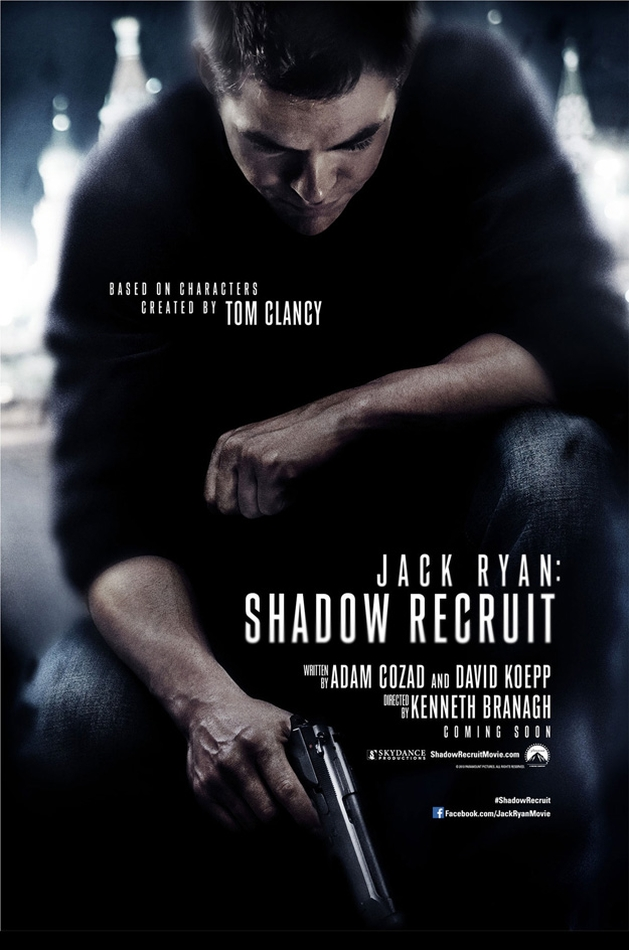 "Primeiro trailer de ""Jack Ryan: Shadow Recruit"""