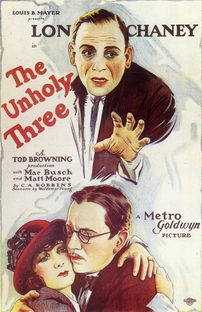 The Unholy Three - Poster / Capa / Cartaz - Oficial 1